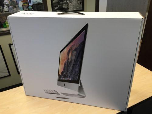 Apple iMac 27 Retina 5K Desktop 4GHz i7 Quad-Core 24 GB 1TB Radeon R9 M395X 4GB