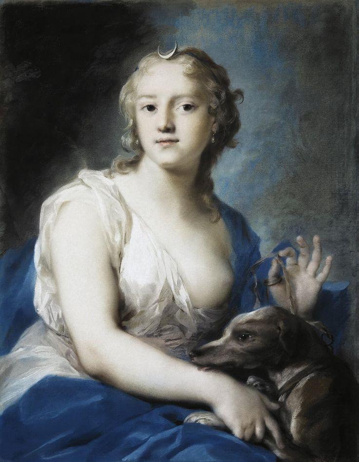 Rosalba Carriera (Venetian, 1675 – 1757) Diana