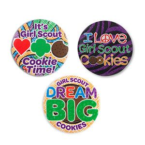 cookie button pins girl scout cookies girl scout cookies girl rh pinterest com