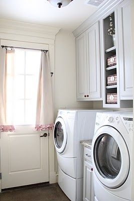 DIY::Laundry Room Update Using Only Paint !. Mine would need a bit ...