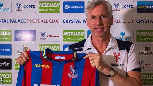 Crystal Palace have appointed ex-Newcastle boss Alan Pardew as their new manager on a three-and-a-half-year deal.