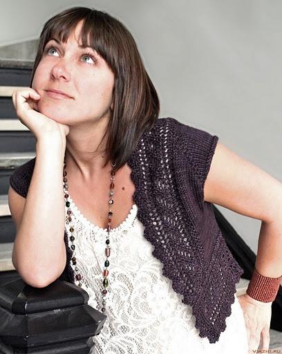 жилет Watershed Дизайнер Amy Swenson - Елена Антонова - Веб-альбомы Picasa