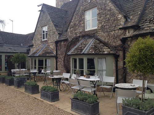 The Fox at Oddington (10 minutes drive from Upper Slaughter).
