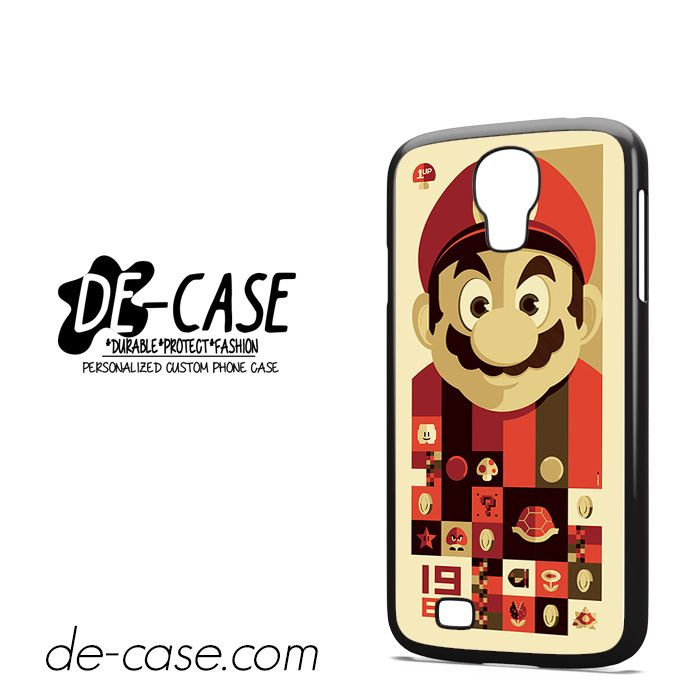 Mario Bross Old Game DEAL-6889 Samsung Phonecase Cover For Samsung Galaxy S4 / S4 Mini