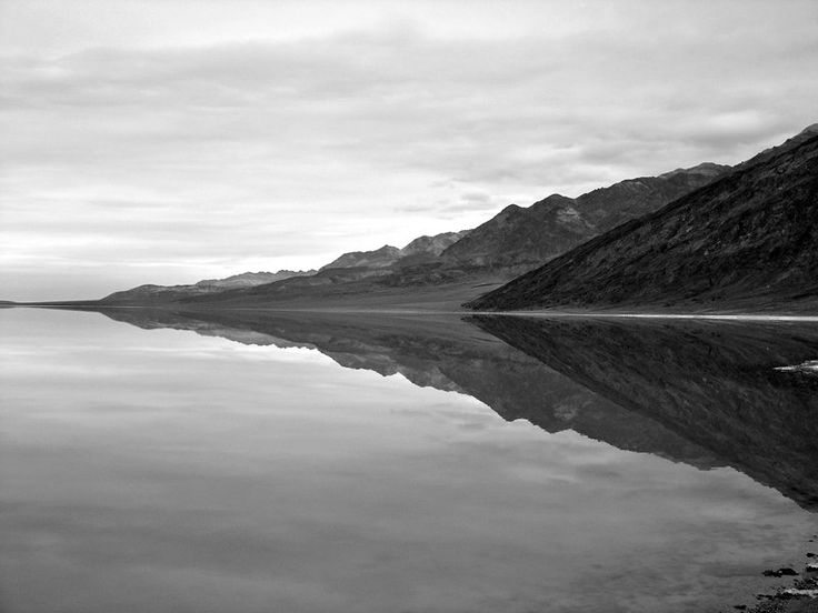 Reflections Death Valley  California 2005 - Mitch Dobrowner