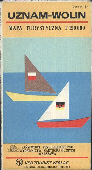 Uznam-Wolin. Usedom-Wolin 1:150 000, PPWK/VEB Tourist Verlag, 1977, http://www.antykwariat.nepo.pl/uznamwolin-usedomwolin-1150-000-p-13458.html