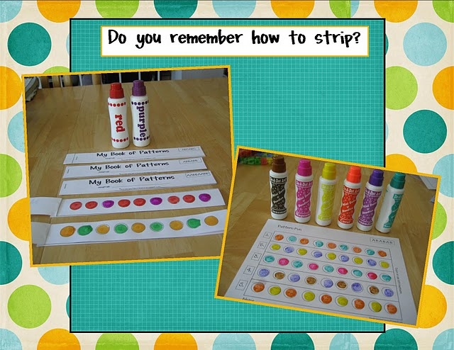book of patternsFree Pattern, Math Pattern, Math Ideas, Kindergarten Crayons, Bingo Dabber, Pattern Strips, Classroom Ideas, Strips Book, Pattern Book