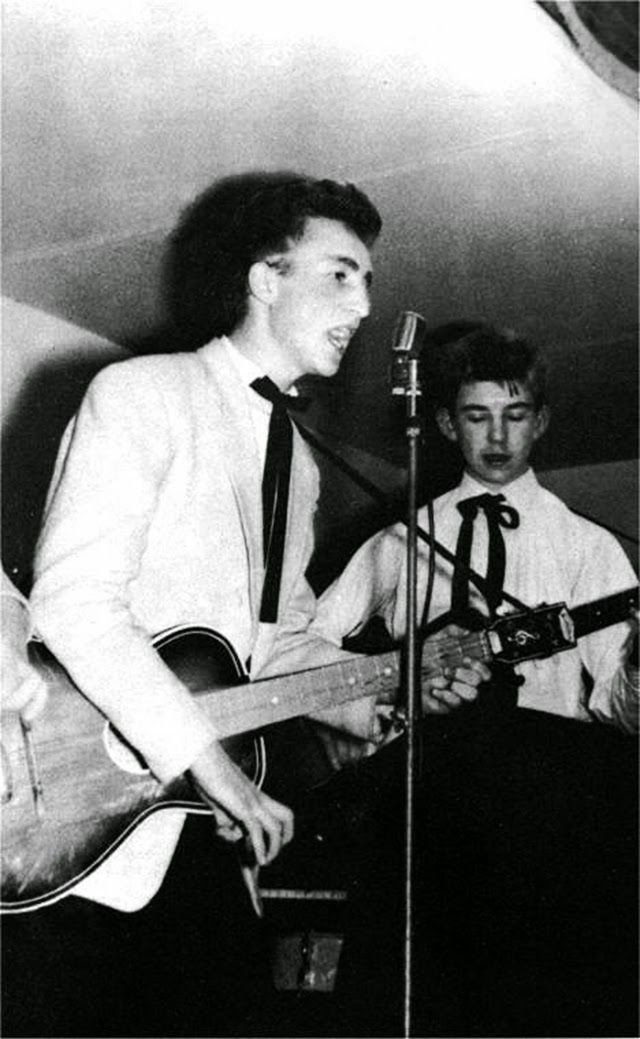 Rare Photos of The Quarrymen from the Late 1950s  I've seen about half of these, but some of them are more rare.