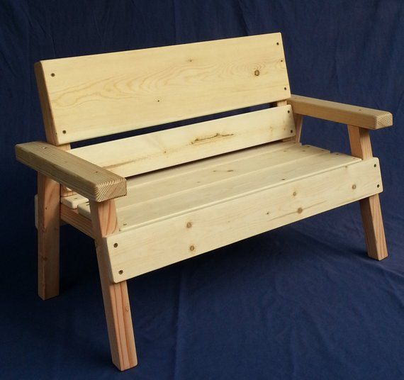 Phenomenal Diy Project Unfinished Kids Solid Wood Bench Toddler Boy Cjindustries Chair Design For Home Cjindustriesco