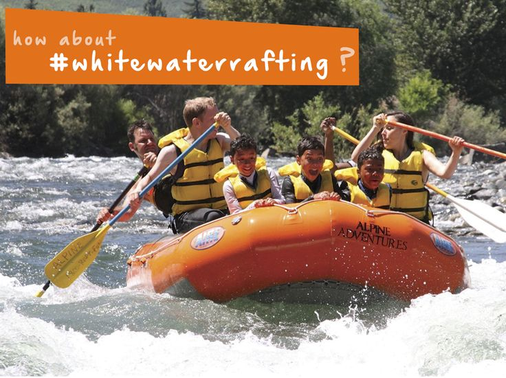 Take an #adventure on the water with #whitewaterrafting! #familyfun #thingstodo