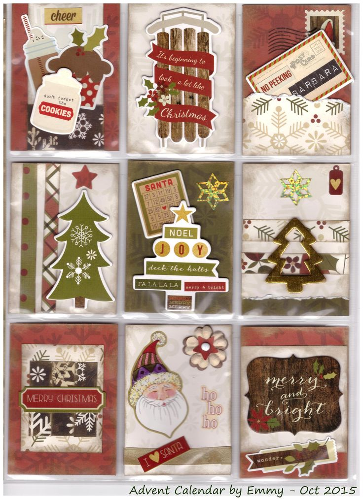Christmas Pocket Letter - Scrapbook.com