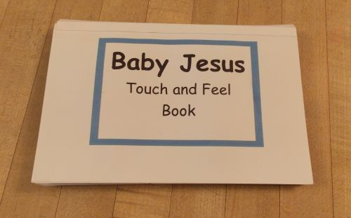 Baby Jesus Touch and Feel Book | Bible Songs And More