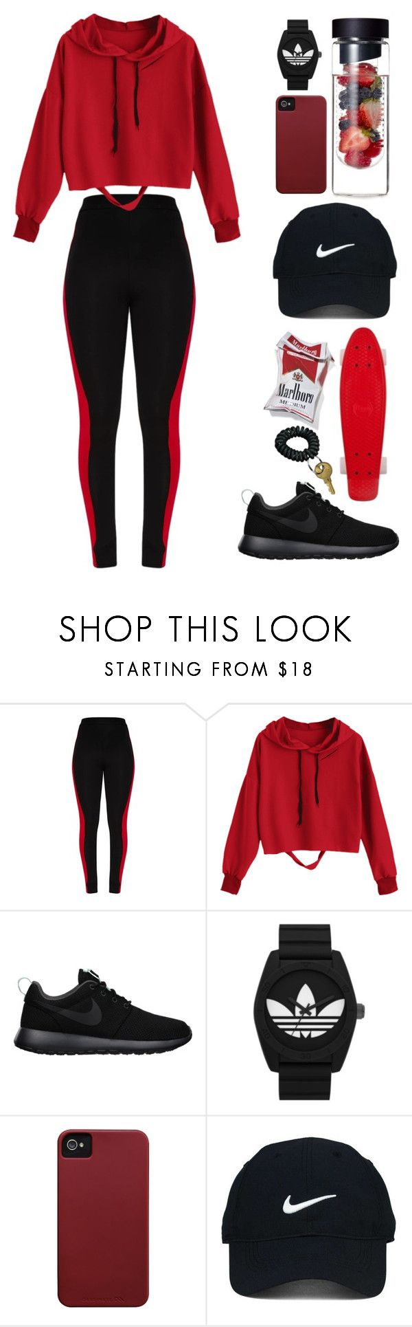 """Untitled #153"" by nglmfrryln ❤ liked on Polyvore featuring NIKE, adidas Originals, Case-Mate and Nike Golf"