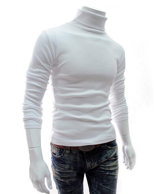 high collar t-shirt - Blusa cacharrel gola alta mg longa