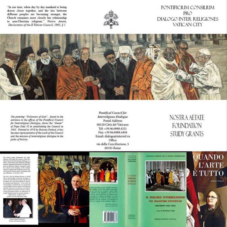#PontificioConsiglio #papafrancesco #papagiovannipaoloii #papapaolovi #dialogointerreligioso #doloresputhod #vatican
