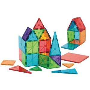Amazon.com: Magna-Tiles Clear Colors 32 piece set: Toys & Games