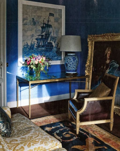 Eye For Design: Decorating with Dazzling Blue
