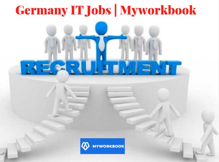 Looking for various type of Germany IT Jobs according to your qualification and skills. Myworkbook is a prominent choice for you which offers latest IT jobs such as development, Business Analyst, Digital Marketing, Web Designer, etc within one search. For more information or query call at 7275-988-416.