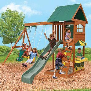 $899 | Big Backyard Timber Playground - Augusta - Target ...