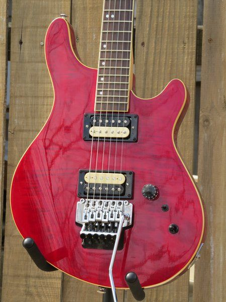 Customized Washburn Billy T 6 string electric guitar