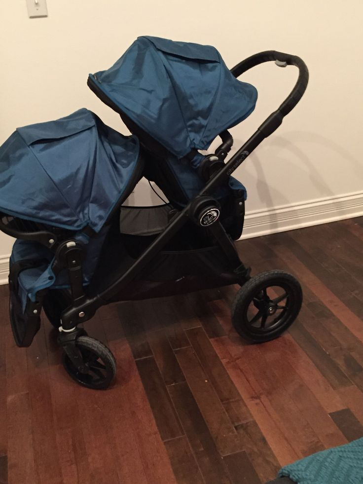 Baby Jogger City Select - numerous seat variations, large canopies, peek-a-boo window, adjustable handlebar, large storage basket, and many different recline options.  Stroller weight: 29 lbs Seat capacity: 45 lbs per seat