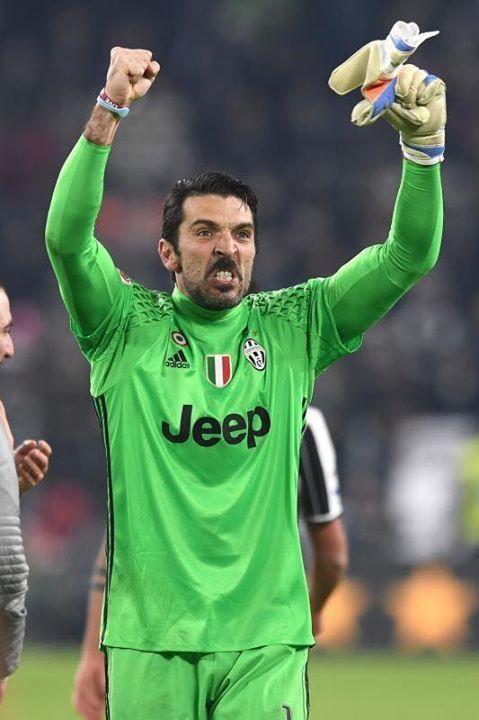 Gigi Buffon Juve Roma 1-0 17/12/16