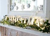 Scandinavian nature inspired Christmas decorations