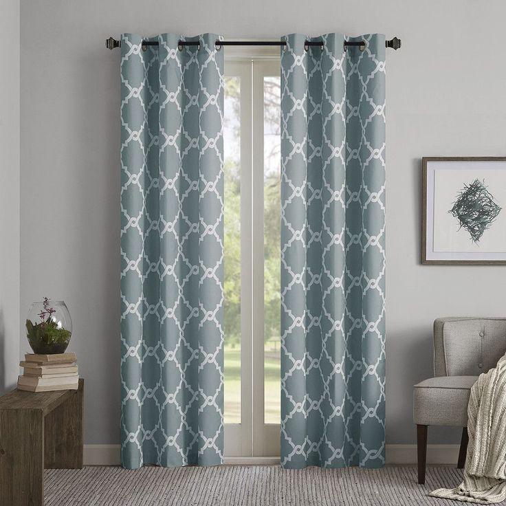 merritt geometric curtain panel