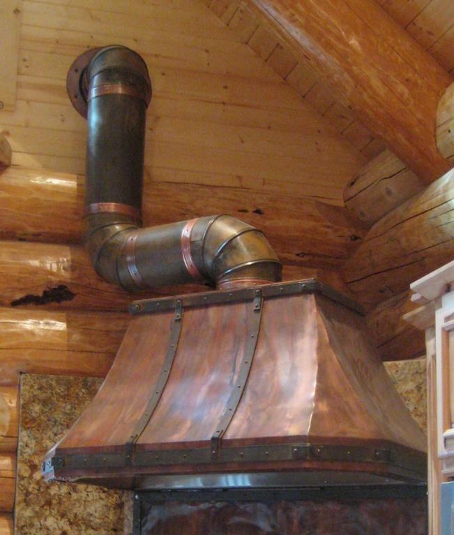 copper kitchen island hoods rustic custom welded range hood location ca under cabinet australia