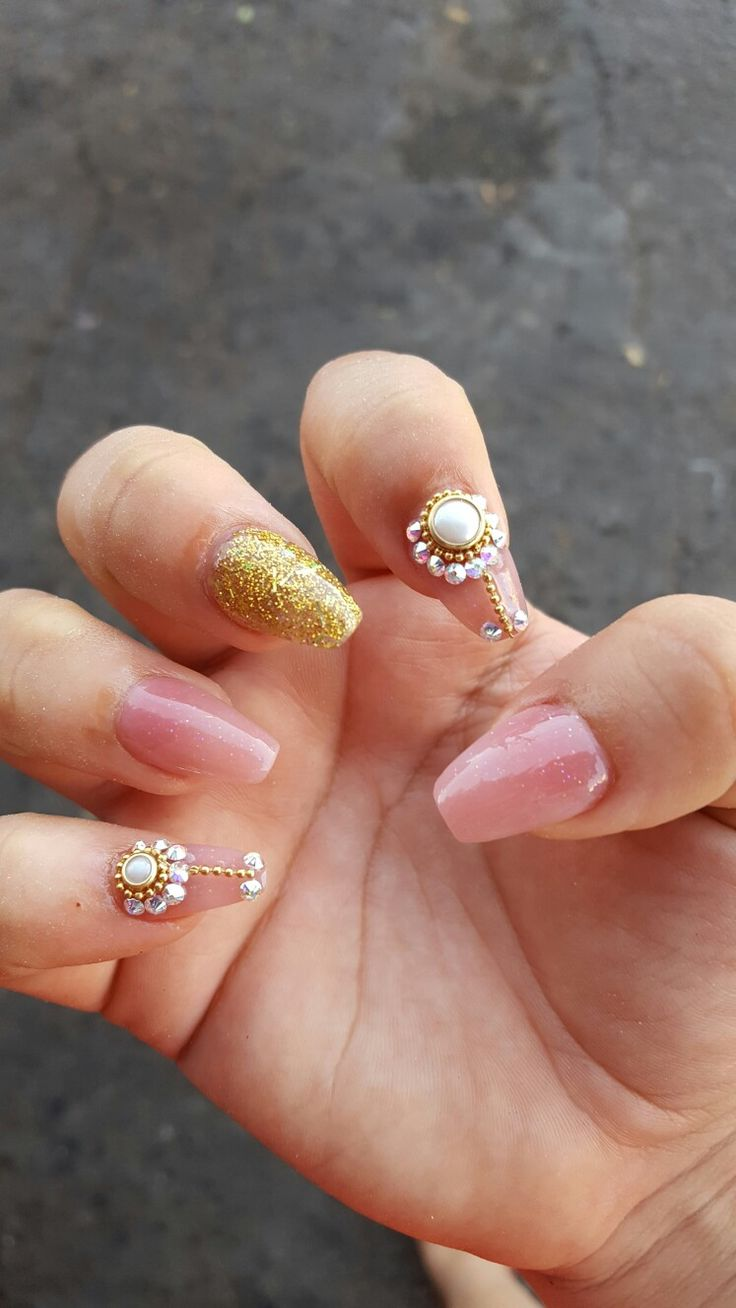 14 best nails images on Pinterest | Casket nails, Coffin nail and ...