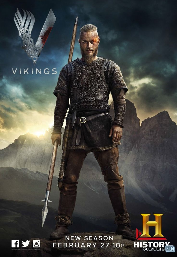 Serie tv Vikings streaming ita