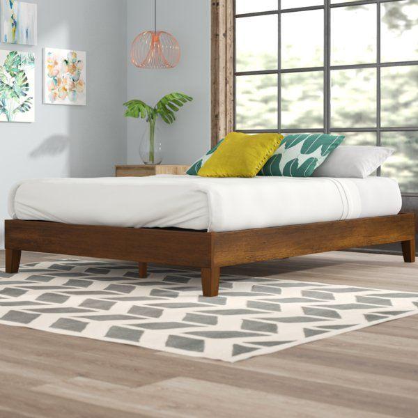 Elizabeth Platform Bed Platform Bed Upholstered Bed Frame Bed