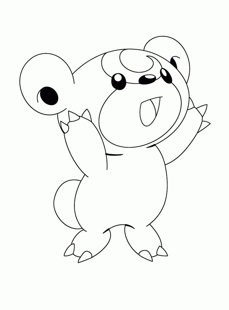 Video Games Pokemon Coloring Pages