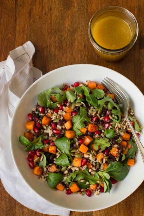 With it's spicy honey lime dressing, this healthy Black Bean Sweet Potato Salad is perfect for a vegetarian meal, or as a wonderful side to grilled chicken, shrimp or steak.