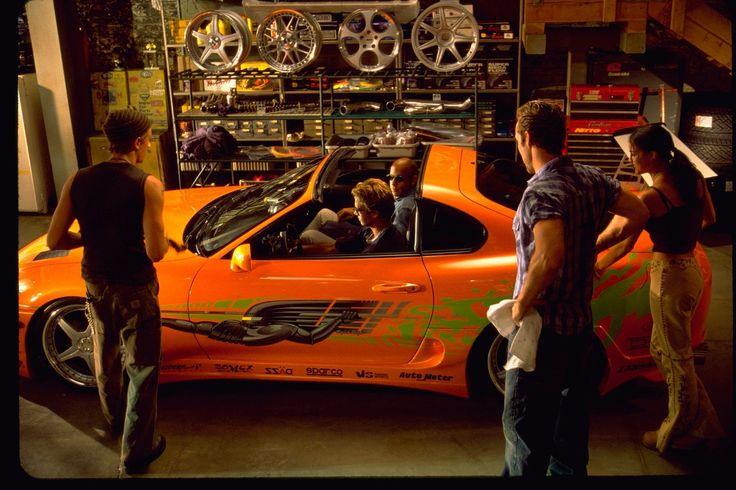 Vin Diesel, Michelle Rodriguez, and Paul Walker in Halálos iramban (2001)