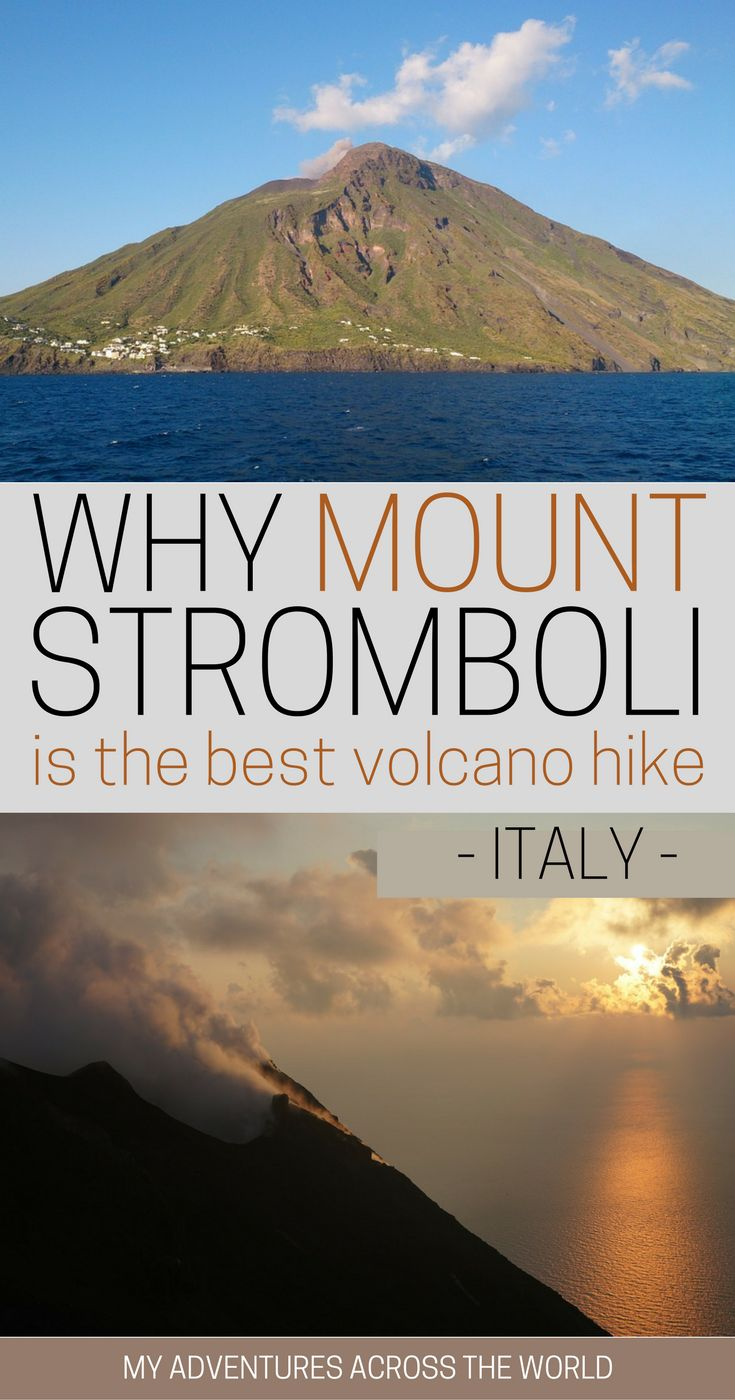 You might have never heard of it but Mount Stromboli, Italy could easily be the best volcano hike in the world. Discover why with this post! | Stromboli Volcano islands | Stromboli volcano night | Stromboli Italy volcano #stromboli #sicily #sicilytour - via @clautavani