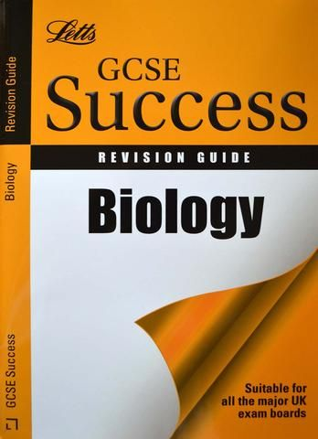 Letts GCSE Success Biology Revision Guide [Paperback] - Tabbycat Books