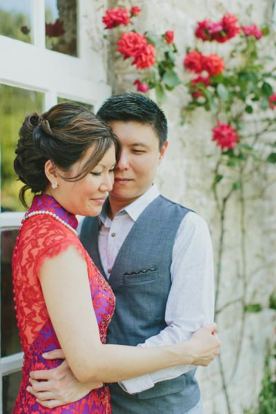 Bride and groom: http://www.stylemepretty.com/little-black-book-blog/2015/02/10/chinese-tea-ceremony-in-the-cotswolds/ | Photography: Leah Kua - http://leahkua.com/