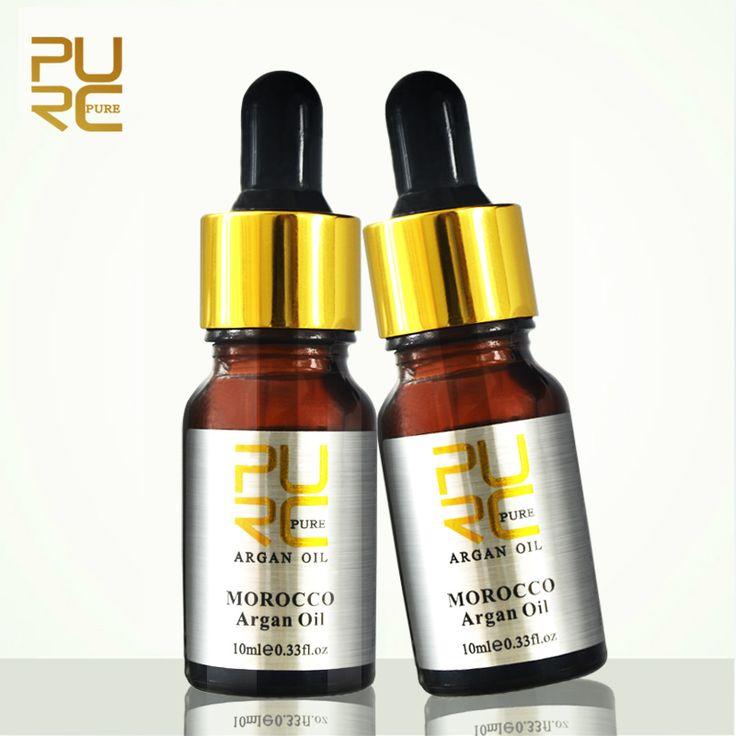 Марокканские чистый аргановое масло для ухода за волосами 2 шт. 10 мл Волос масло лечение для всех типов волос Волос, Лечение Кожи Головы 11.11 дешевые цена купить на AliExpress