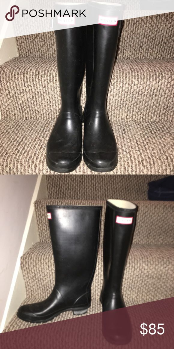 Hunter Wellies Huntress Excellent Condition Hunter Huntress Boots, these are the wide calf version. Hunter Boots Shoes Winter & Rain Boots