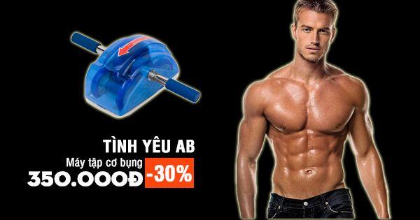 """Đơn giản nhưng hiệu quả - Cho bạn thân hình hoàn hảo và cơ bụng 6 múi - Chỉ có thể là """"Máy tập cơ bụng tình yêu AB"""" - 350.000đ >>> http://www.vuabanle.vn/may-tap-tinh-yeu-ab.html"""