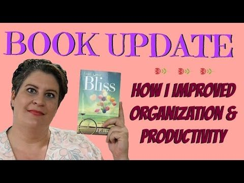 Book Update ~ How A Book On Positivity Inspired Better Organization - YouTube