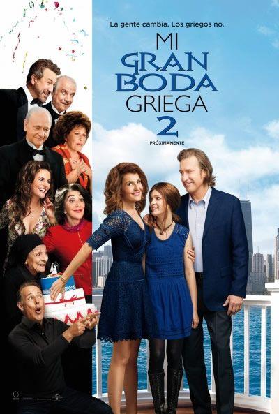 Póster de Mi gran boda griega 2 (My Big Fat Greek Wedding 2)