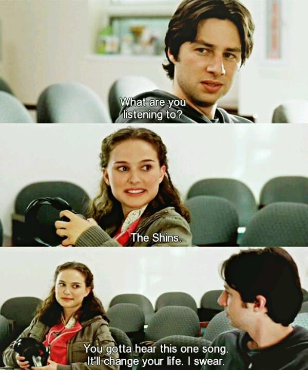 Garden State (2004) - 'Tanti auguri per il suo abisso infinito.' 'Grazie... Ehi! Anche a te.'
