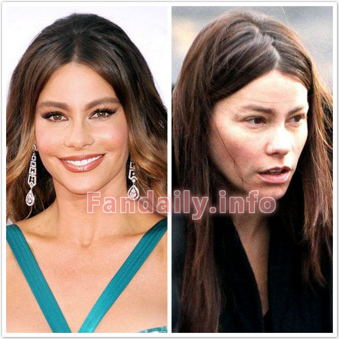 Celebrity Before And After Makeup Photos | Makewalls.co