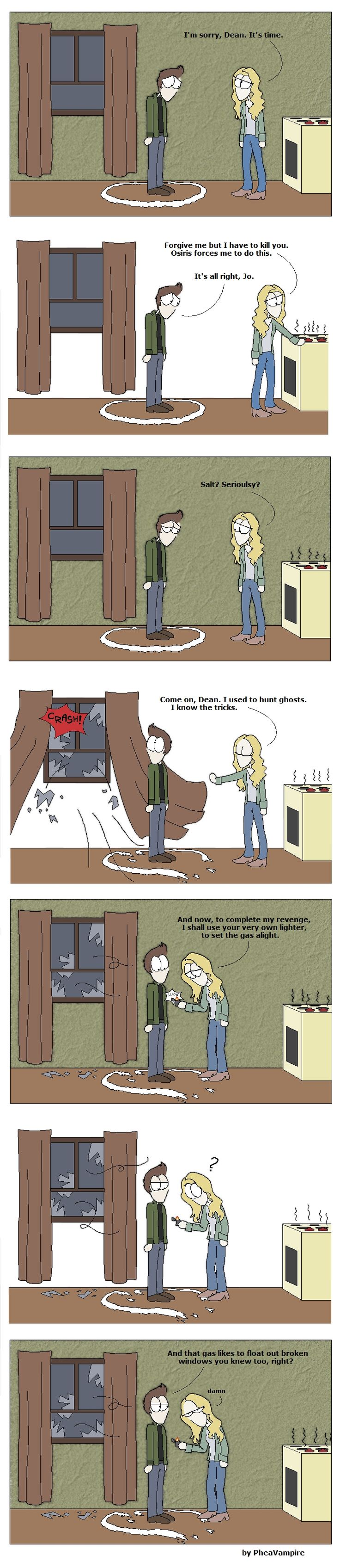 SPN: An eye for an eye SPOILER by ~PheaVampire on deviantART