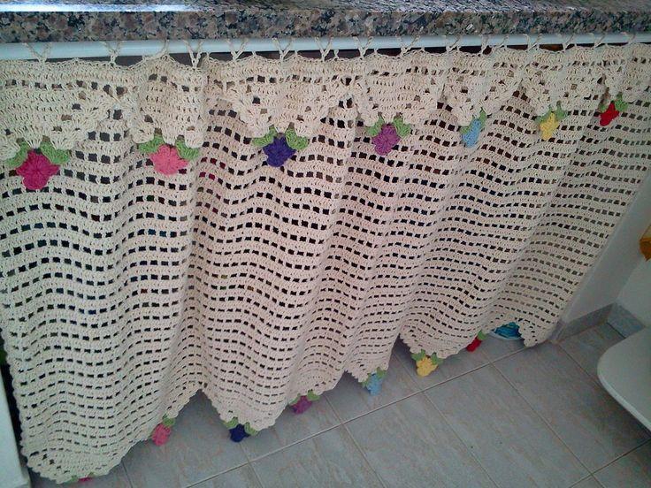 17 melhores imagens sobre croche bandÔ e cortinas no pinterest ...