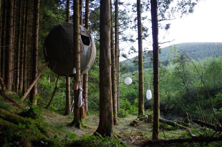 Tree Tent Sustainable Shelter Concept by Luminair