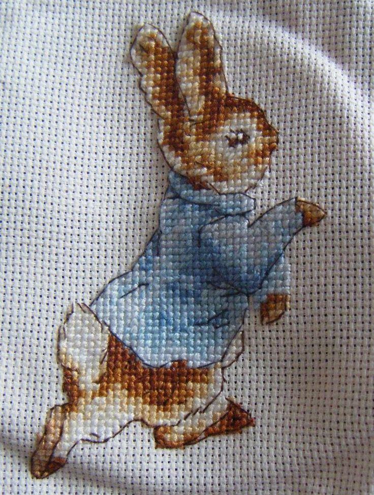 Beatrix Potter's Peter Rabbit Cross stitch