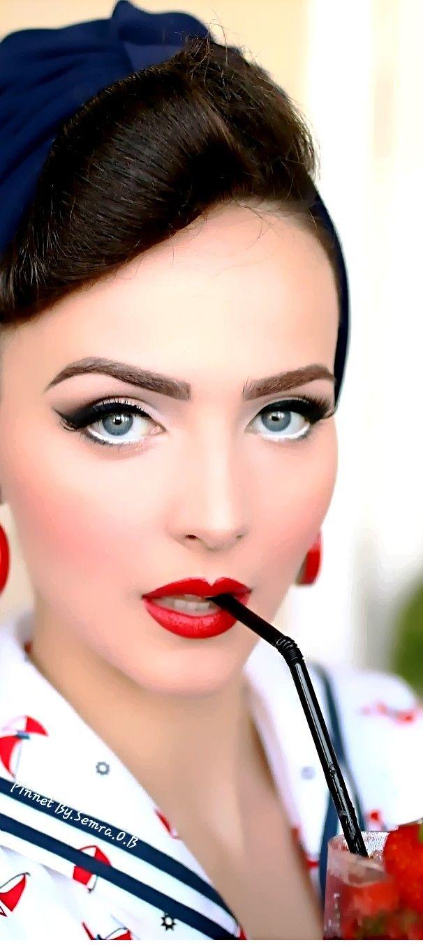 Idda Van Munster Beautiful Women Faces Pretty Eyes Woman Face